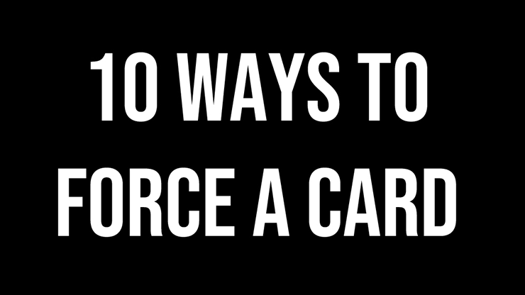 Magic Encarta Presents - 10 Ways To Force A Card by Vivek Singhi video DOWNLOAD