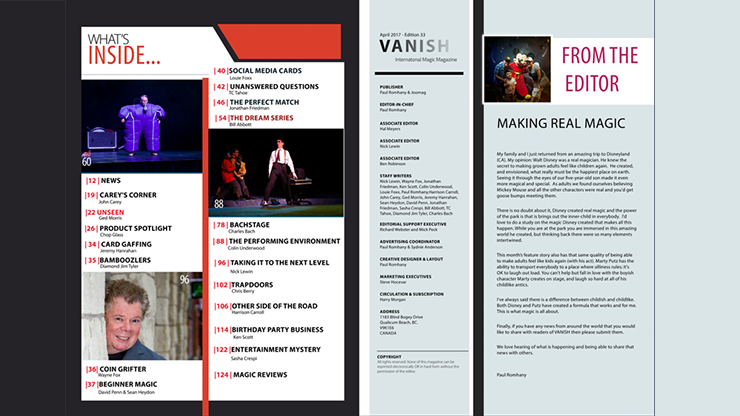 Vanish Magazing #33 eBook DOWNLOAD