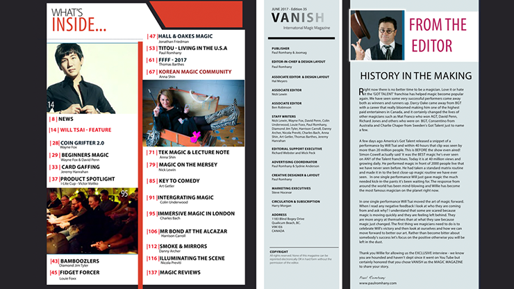 Vanish Magazine #34 eBook DOWNLOAD