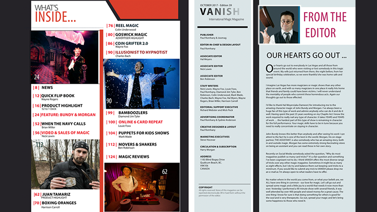 Vanish Magazine #39 eBook DOWNLOAD
