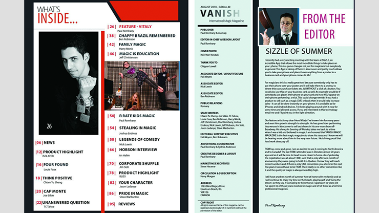 Vanish Magazine #49 eBook DOWNLOAD