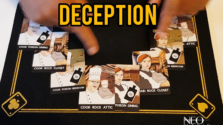 Deception (Gimmicks and Online Instructions) by Vinny Sagoo