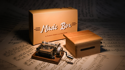 MUSIC BOX (Gimmicks and Online Instruction) by Gee Magic