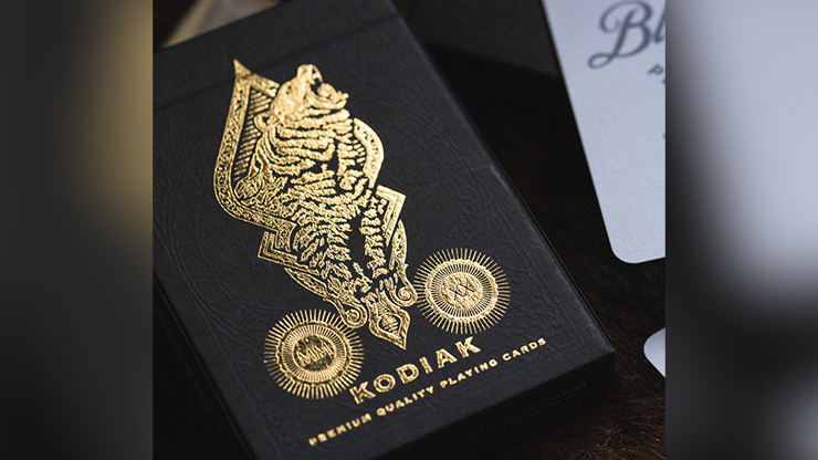 Kodiak Playing Cards by by Jody Eklund