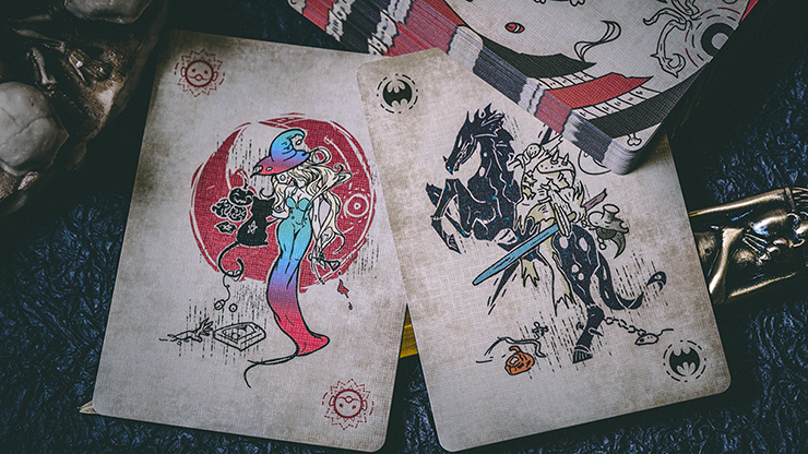Under the Skin (Color Edition) Playing Cards by Acelion