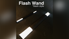FLASH WAND (BLACK) by Victor Voitko (Gimmick and Online Instructions)