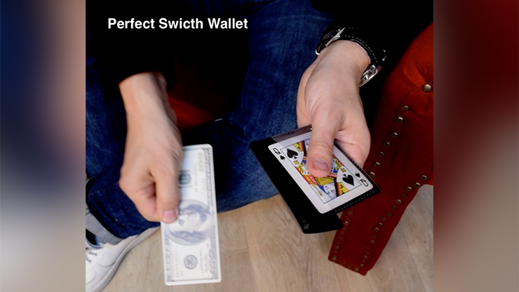 Perfect Switch Wallet by Victor Voitko (Gimmick and Online Instructions)
