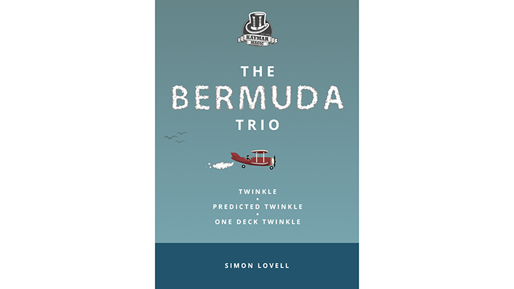 The Bermuda Trio booklet (Gimmick and online instructions) by Simon Lovell & Kaymar Magic