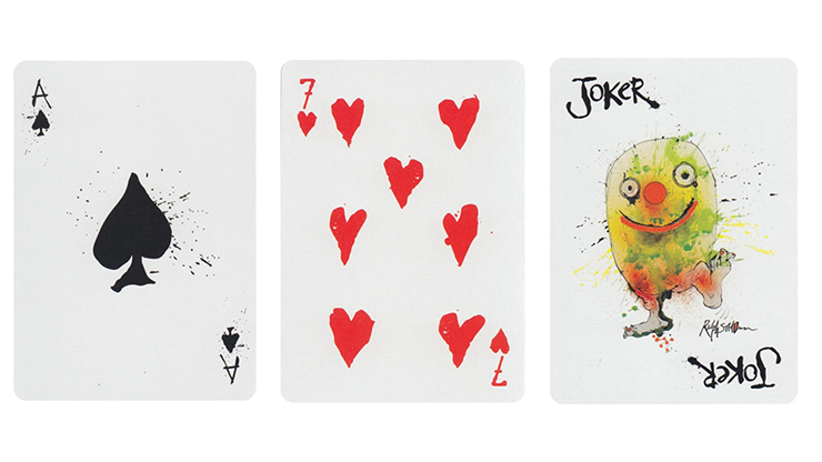 Flying Dog V2 Playing Cards by Art of Play