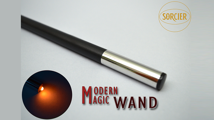 Modern Light Wand by Sorcier Magic