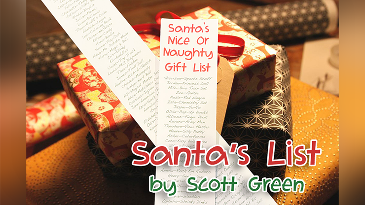 Santa's List by Scott Green