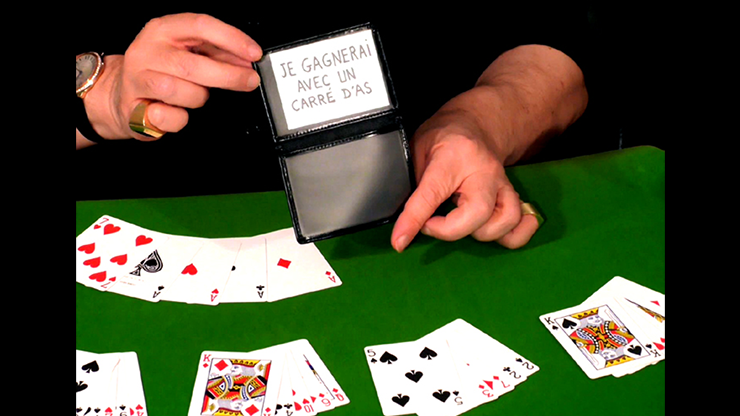 Perfect Poker (Gimmicks and Online Instructions) by Dominique Duvivier