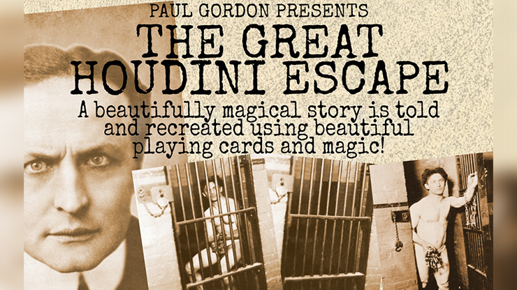 HOUDINI ESCAPE by Paul Gordon