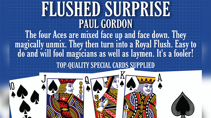 FLUSHED SURPRISE by Paul Gordon