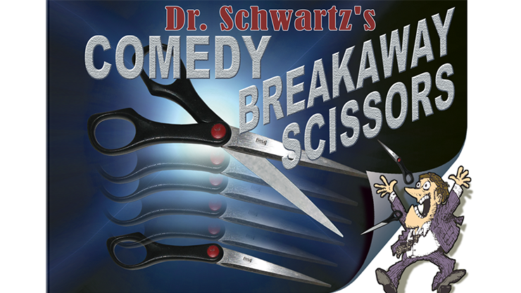 Comedy Breakaway Scissors by Martin Schwartz