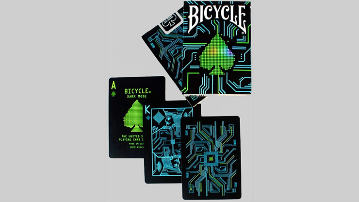 Bicycle Dark Mode Playing Cards