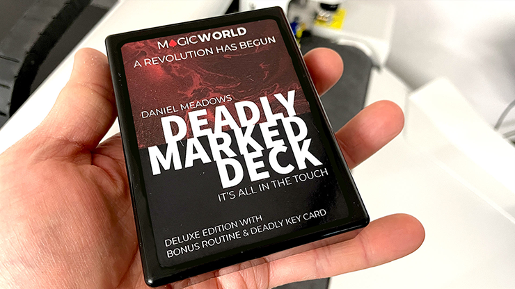 DEADLY MARKED DECK (Gimmicks and Online Instructions) by MagicWorld