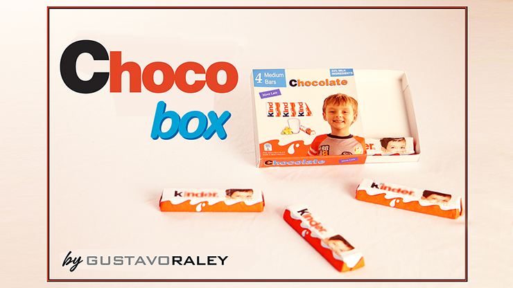 CHOCO BOX (Gimmicks and Online Instructions) by Gustavo Raley