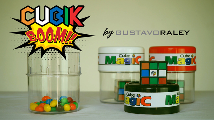 CUBIK BOOM (Gimmicks and Online Instructions) by Gustavo Raley