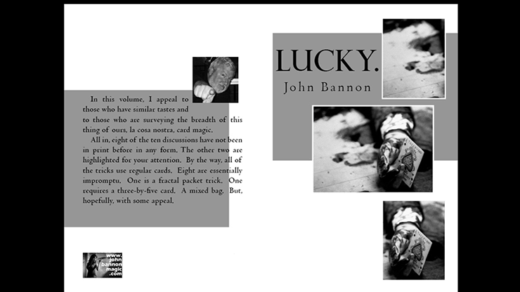 Lucky by John Bannon