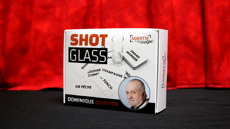 Shot Glass (Gimmicks and Online Instructions) by Dominque Duvivier