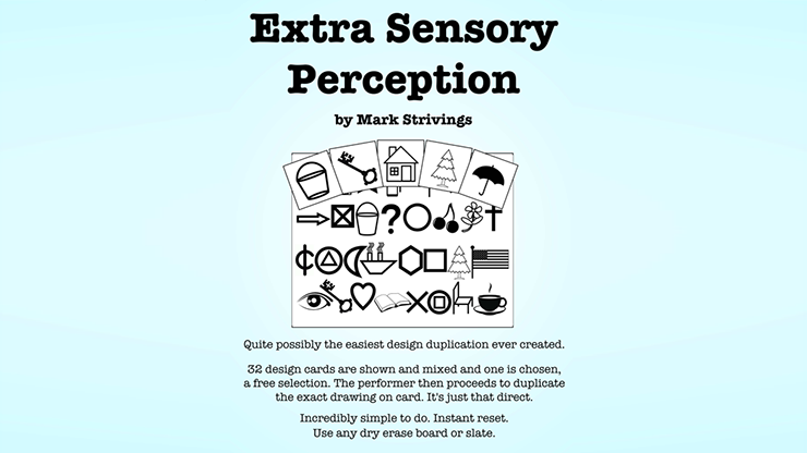 Extra Sensory Perception by Mark Strivings