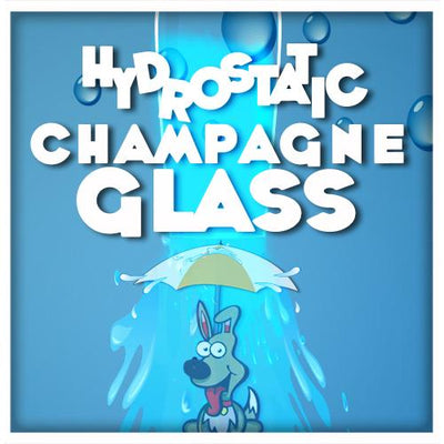 Hydrostatic Champagne Glass by PropDog