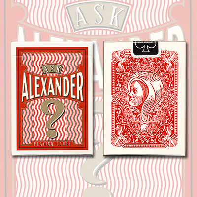 Ask Alexander Playing Cards - Limited Edition by Conjuring Arts