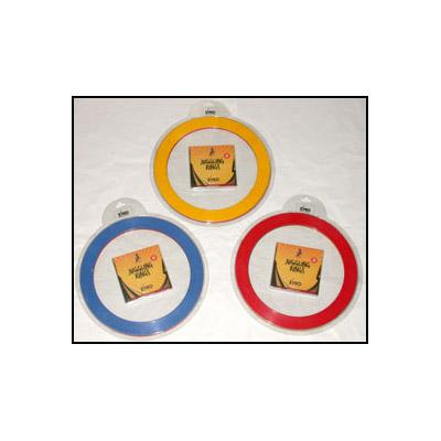 Juggling Rings Set (3 Rings and DVD) - Assorted Colors by Zyko - Trick