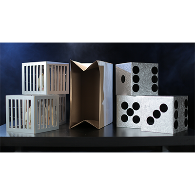 Cages and Dice from Paper Bag by Tora Magic - Trick