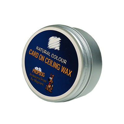 Card on Ceiling Wax 15g (Natural) by David Bonsall and PropDog - Trick