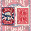 Bicycle Escape Map Deck by USPCC