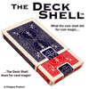 Deck Shell (Red) with DVD by Chazpro Magic & Collectibles - Trick
