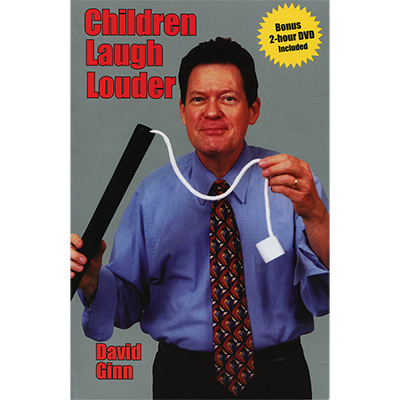 CHILDREN LAUGH LOUDER (w/DVD) by David Ginn - Book