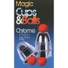 Chrome Cups & Balls (plastic) by Loftus Magic - Trick