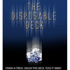 Disposable Deck 2.0 (blue) by David Regal - Trick