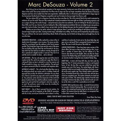 Master Works of Conjuring Vol. 2 by Marc DeSouza - DVD