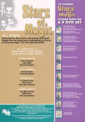 Stars Of Magic #7 (All Stars) - DVD
