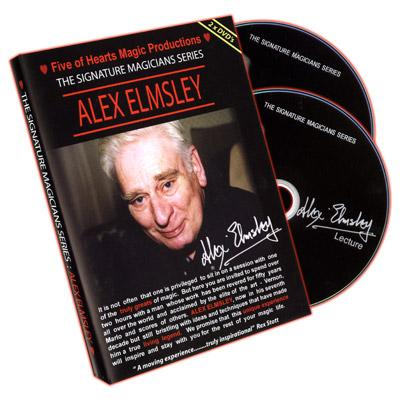 Alex Elmsley (2 DVD Set) Signature Magicians Series - DVD