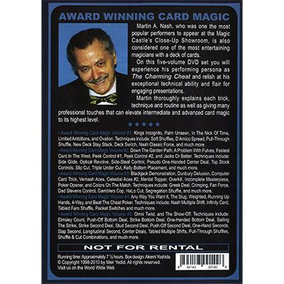 Award Winning Card Magic (5 DVD Set) by Martin Nash - DVD