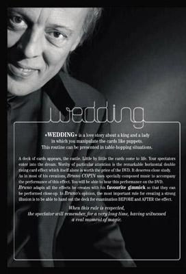 The Wedding by Bruno Copin - DVD