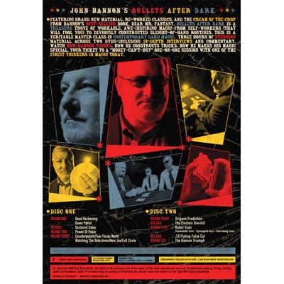 Bullets After Dark (2 DVD Set) by John Bannon & Big Blind Media - DVD