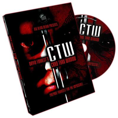 CTW (Card Through Window) by David Forrest & Big Blind Media - DVD