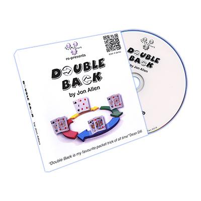 Double Back (DVD and Cards) by Jon Allen - DVD