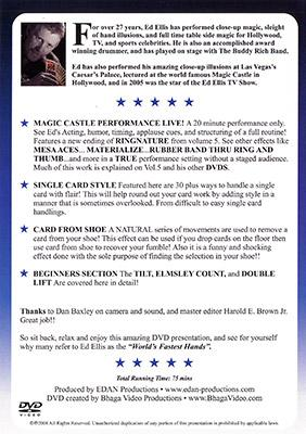 Magic Castle Performance Vol. 6 Live by Ed Ellis - DVD