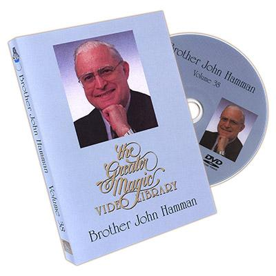 The Greater Magic Video Library Volume 38 - Brother John Hamman - DVD