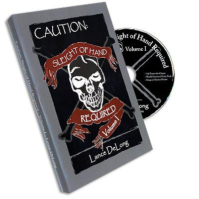 Sleight of Hand Required Volume 1 by Lance DeLong - DVD