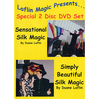 Sensational Silk Magic And Simply Beautiful Silk Magic by Duane Laflin Video DOWNLOAD