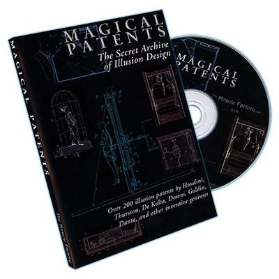 Magical Patents: Secret Archive of Illusion Secrets (CD) - DVD