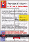 Sessions With Simon: The Impossible Magic Of Simon Aronson - Volume 1 - DVD